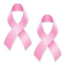 Pink Ribbon Cutouts