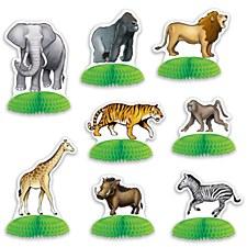 Jungle Safari Animal Mini Centerpieces