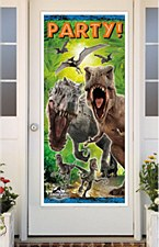 Jurassic World Party Door Poster