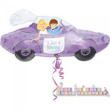 """34""""Just Married Car"""