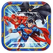 """7""""Justice League Plates"""