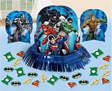 Justice League Table Decoration
