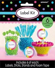 Rainbow Label Kit