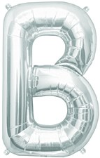 "16"" Letter ""B"" Balloon - Silver"