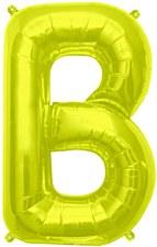 "16"" Letter ""B"" Balloon - Gold"