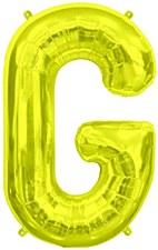 "16"" Letter ""G"" Balloon - Gold"