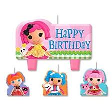 LaLaLoopsy Birthday Candle Set