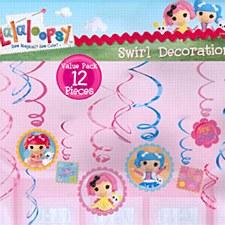 LaLaLoopsy Value Pack Plastic Swirl Decoration