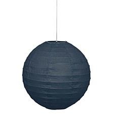 Black 10in Lantern