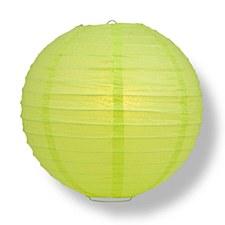 Lime Green 10in Lantern
