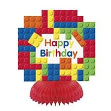 Blocks Birthday Honeycomb