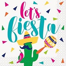 Let's Fiesta Bev.Napkin