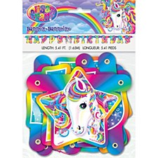 Lisa Frank Birthday Banner