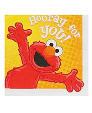 Hooray For Elmo Party Lunch Napkins
