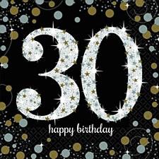 Sparkling Celebration 30 Lunch Napkins
