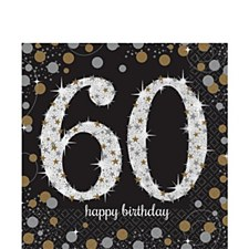 Sparkling Celebration 60 Lunch Napkins