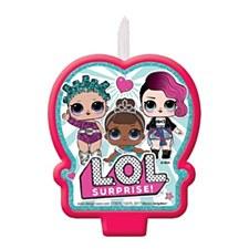 L.O.L Birthday Candle
