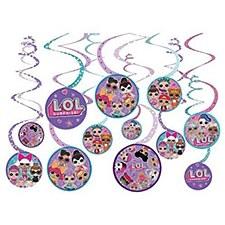 L.O.L Spiral Decorations