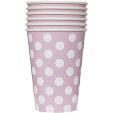 Lovely Pink Dot Cups