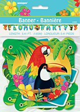 LUAU PARTY Banner