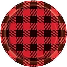 Plaid Lumber Jack 7IN Plate