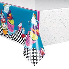 Mad Hatter Tea Party Tablecover