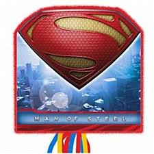 SUPERMAN SAVES THE DAY PINATA