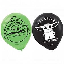 The Mandalorian Latex Balloons