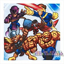 Marvel Super Hero Squad Lunch Napkins