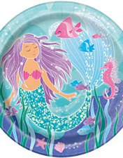 """Mermaid 9""""Plates"""