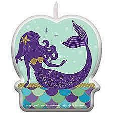 Mermaid Birthday Candle