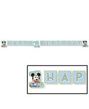 Mickey 1st Banner