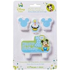Mickey 1st Birthday Candle Set