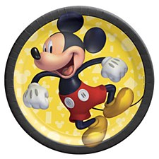 """Mickey Mouse Forever 7""""Plates"""