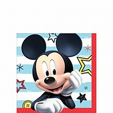 Mickey on the Go Beverage Napkins