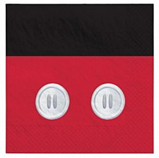 Mickey Mouse Forever Lunch Napkins