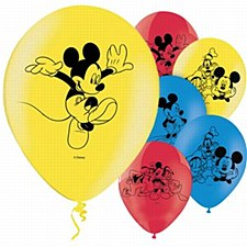 Mickey and the Roadster Racers Latex Balloons