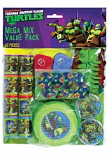 Teenage Mutant Ninja Turtles Mega Mix Favor Pack