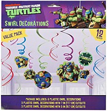Teenage Mutant Ninja Turtles Foil Swirl Value Pack