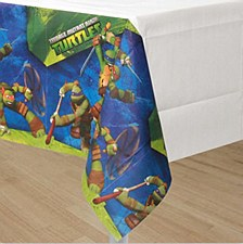 Teenage Mutant Ninja Turtles Plastic Table Cover