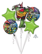 Ninja Turtles Balloon Bouquet