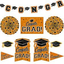 Orange Grad Room Decorating Kit