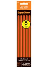 "8"" Glow Sticks - Orange"
