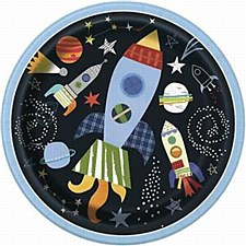 Outer Space 9IN Plates