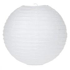 "White 10"" Paper Lantern"