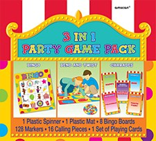 3 in 1 Party Games Pack
