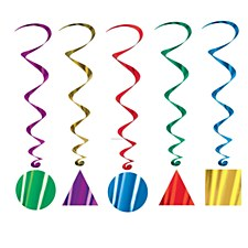 Party Shape Whirls