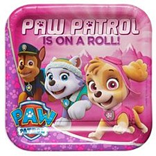 PAW PATROL Square Plate 9''