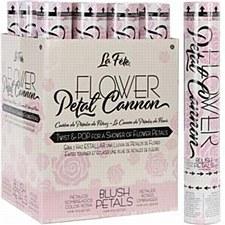 """12""""Blush Flower Petal Cannon"""