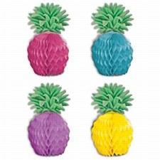Pineapple Mini Centerpieces